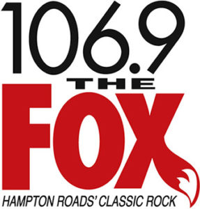 106.9 The Fox logo