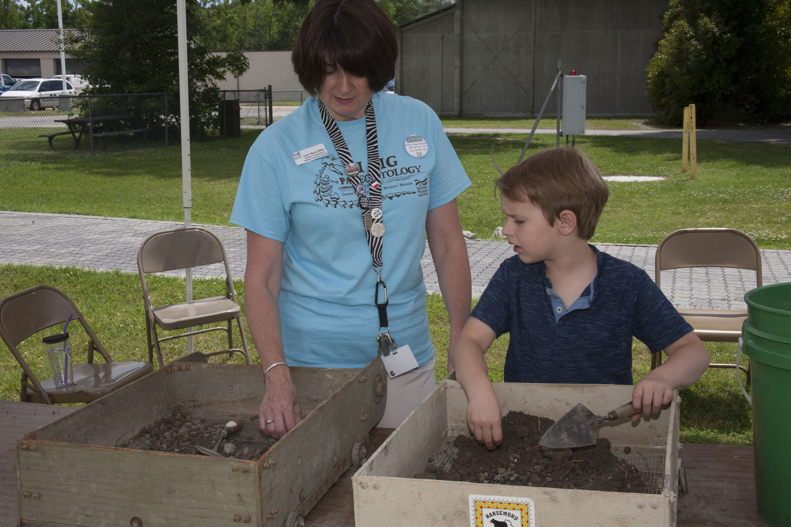 Search for evidence in our Paleontology Tent