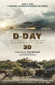 D-DAY 3D Poster