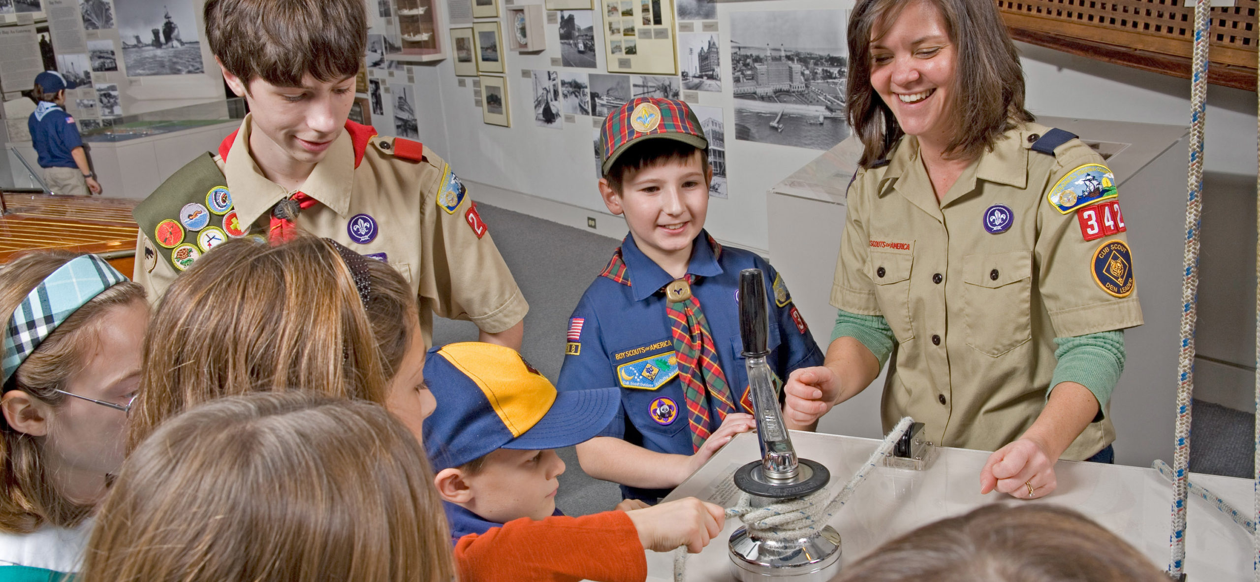 Scouts at The Mariners' Museum