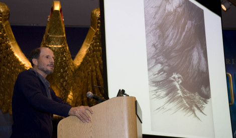 """May 15, 2014, Steven Callahan lectured on """"Adrift: Seventy-six Days Lost at Sea."""""""