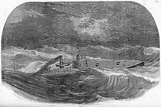 USS Passaic at sea