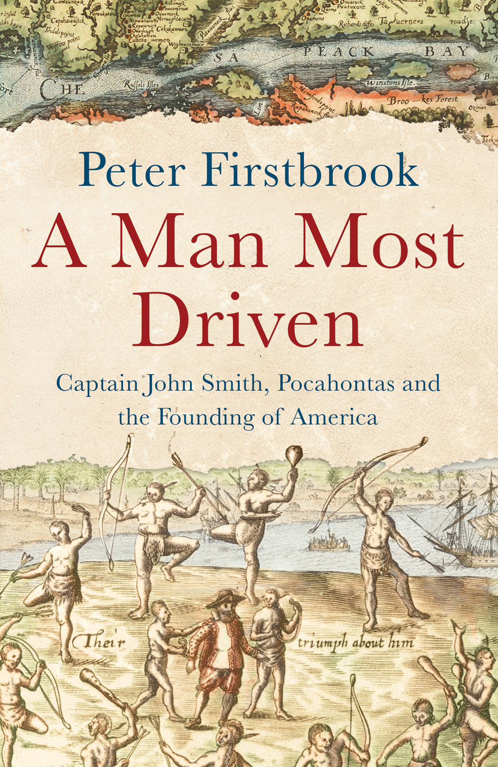 """A Man Most Driven"" by Peter Firstbrook, cover page"