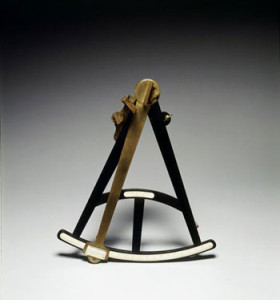 Octant Joseph Roux, Marseilles, France, ca 1780 Gift of Captain Richard H. Tenney,