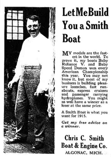 Chris C. Smith, Boat & Engine Co.