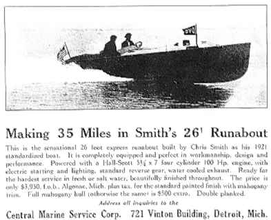 Article on the Chris-Craft 26' Runabout
