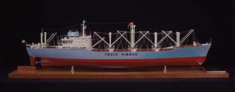 Trein Maersk model ship