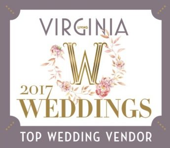Virginia Living 2017 weddings badge