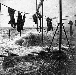 Washday on the USS Wyandotte