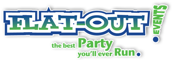 Flat-Out Events logo