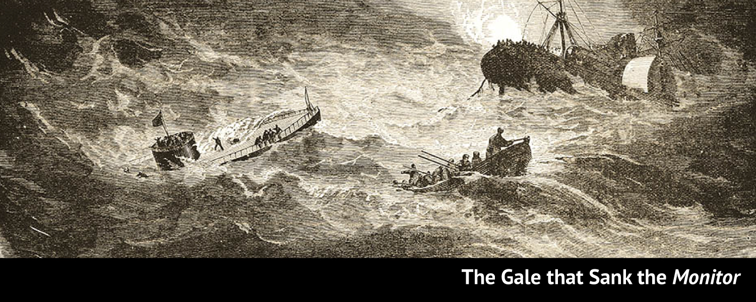 The Gale That Sank the <em>Monitor</em>