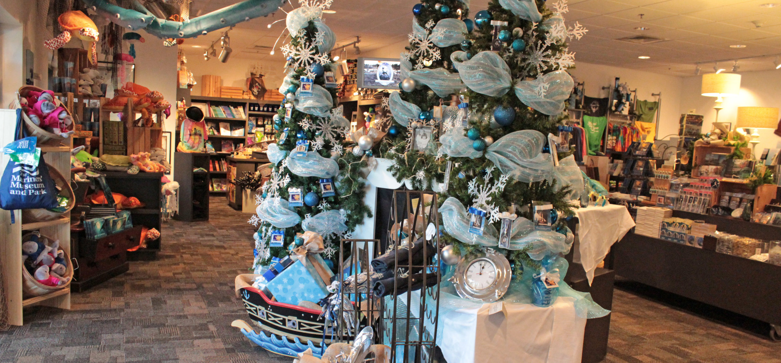 Holiday shopping at The Mariners' Museum Gift Shop