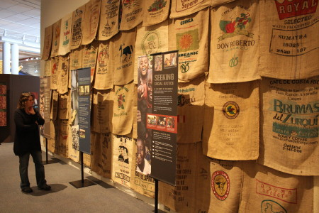 Coffee shipments from around the world