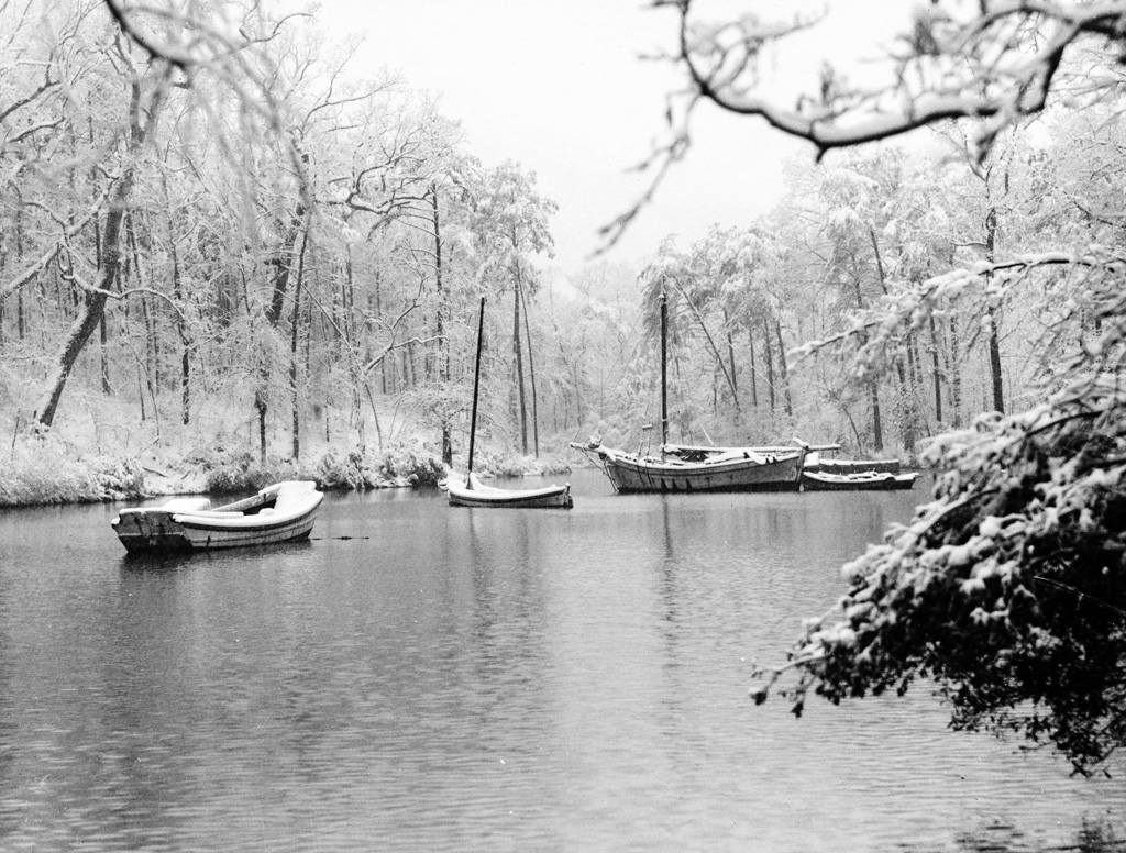 Boats on Lake Mary