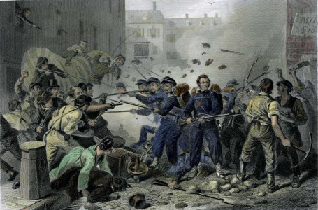 The Baltimore Riot of 1861