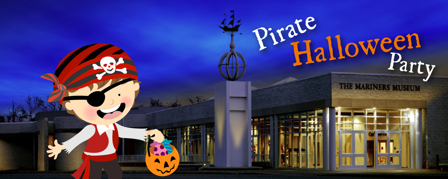 Pirate Halloween Party header