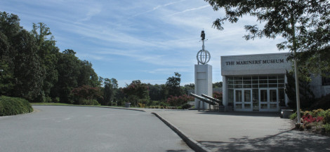 Entrance to The Mariners' Museum