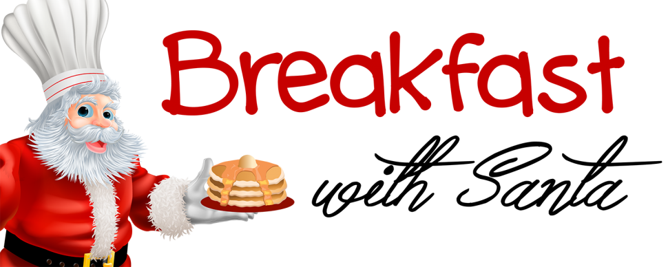 Breakfast with Santa banner