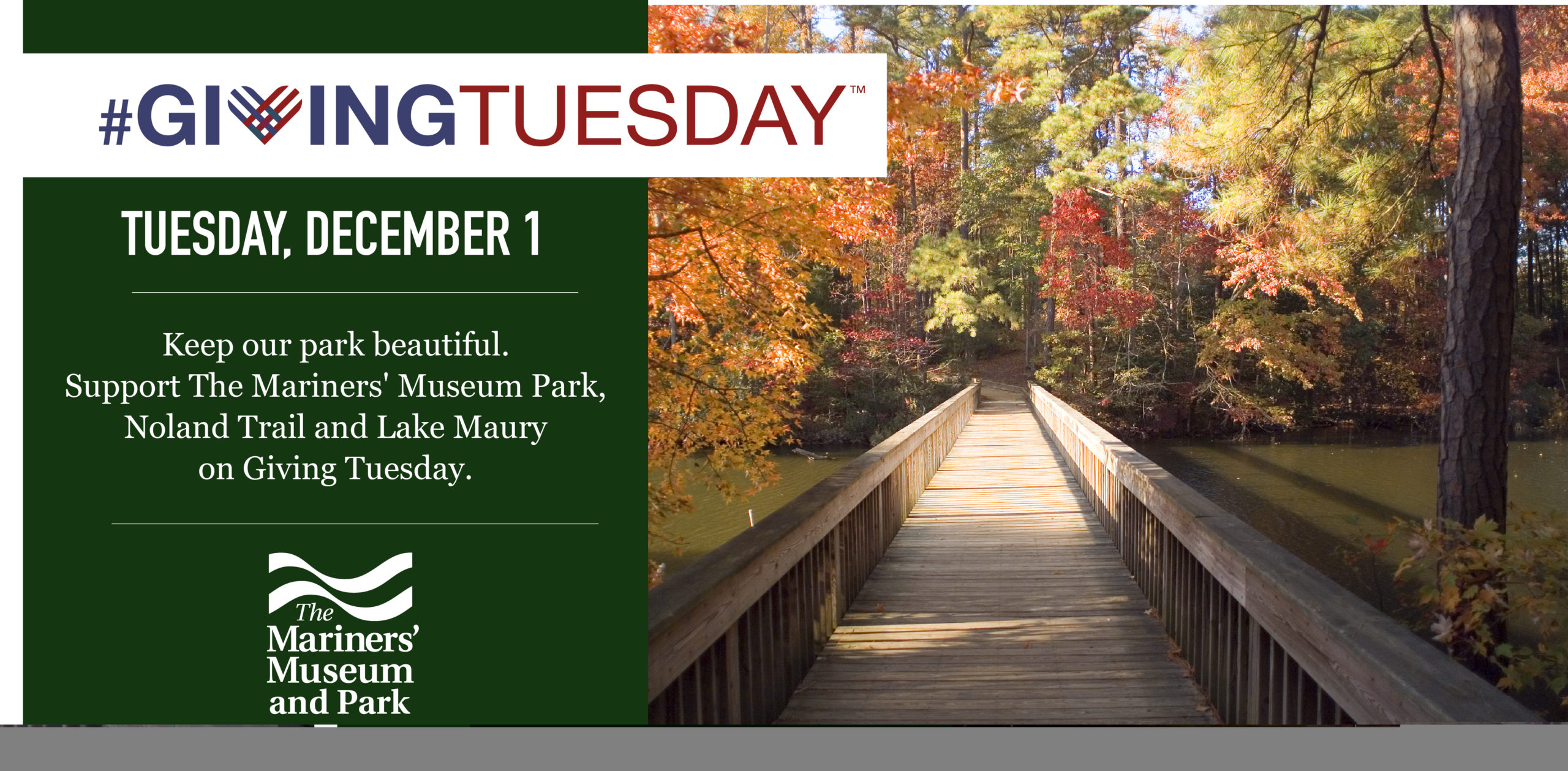 Giving Tuesday, December 2015 banner