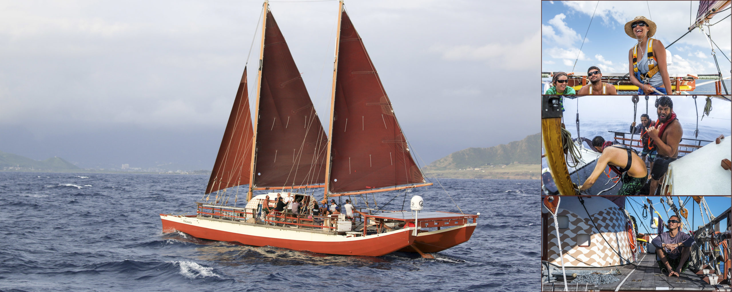 Hokule'a's Worldwide Voyage photo compilation