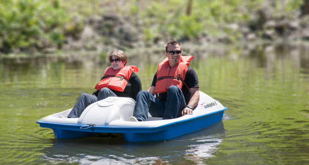 Paddle Boat Rentals Open - The Mariners' Museum and Park