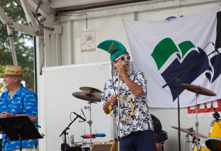 The Party Fins performing at The Mariners' Museum and Park