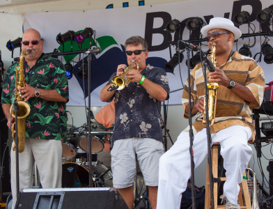 Slapnation performing at The Mariners' Museum and Park