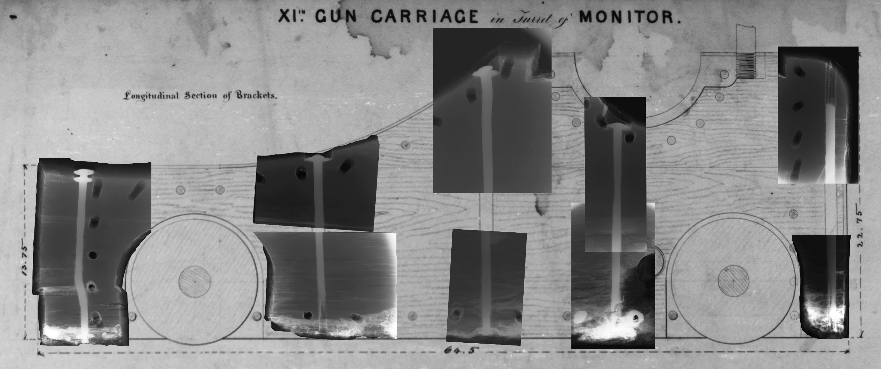 The gun carriage of the USS <em>Monitor</em>