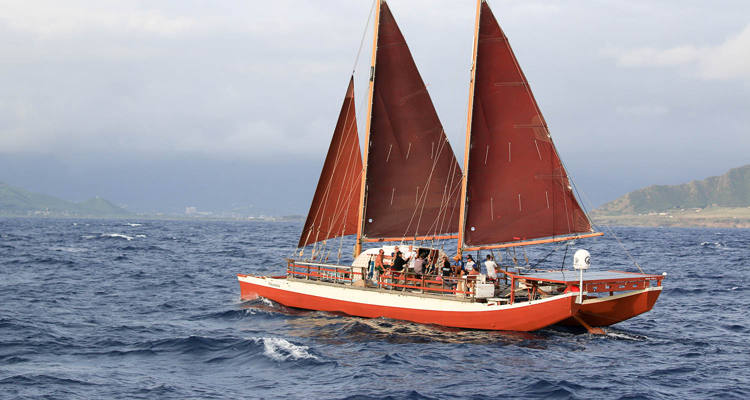 Hōkūleʻa sailing canoe photo