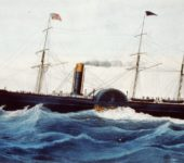 USM Steamship Baltic (1850) painting