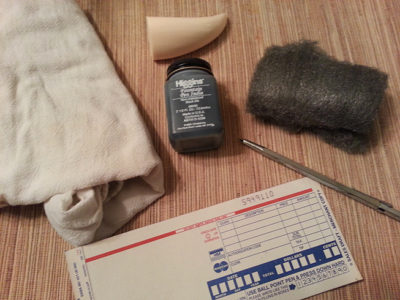 Scrimshaw workshop supplies