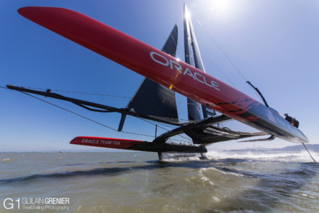 Oracle Team USA AC72 racing yacht