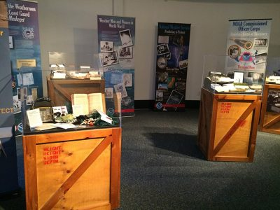 NOAA's Ark displays