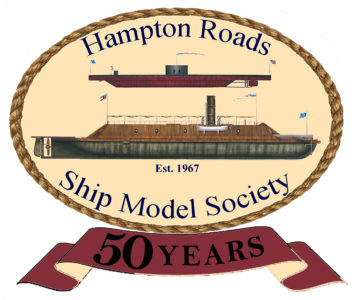 Hampton Roads Ship Model Society logo