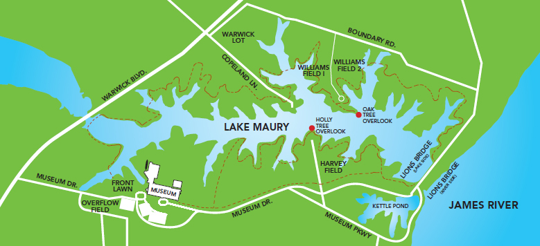 Park map rental locations