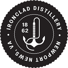 The Ironclad Distillery Co. logo