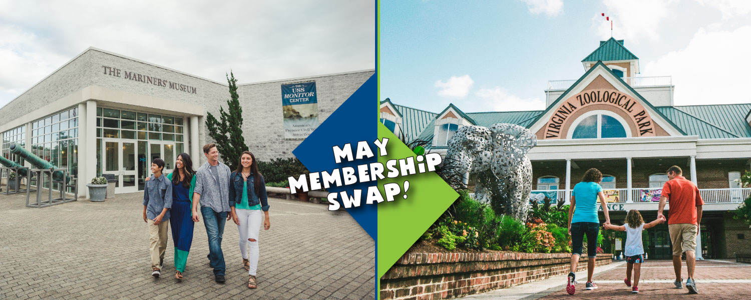 May Membership Swap with the VA Zoo - The Mariners' Museum ...
