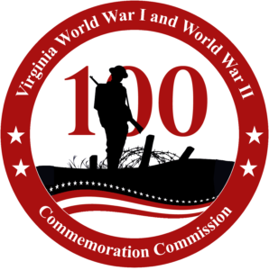 Virginia WWI and WWII Commemoration Commission logo