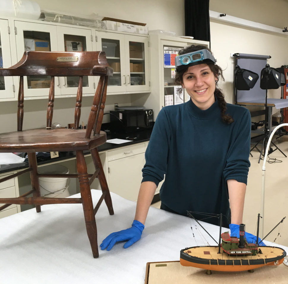 Paige Schmidt, Assistant Objects Conservator