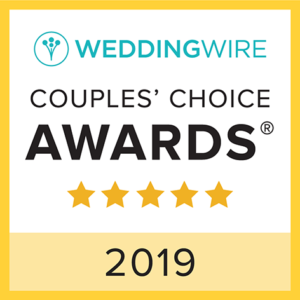 WeddingWire Couples' Choice Awards 2019 badge