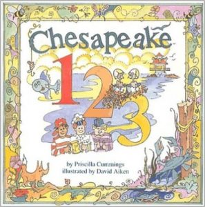 Chesapeake 1-2-3 book cover