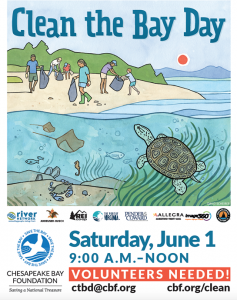 Clean the Bay Day 2019 flyer