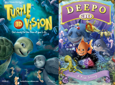Turtle vision & Deepo 3D posters